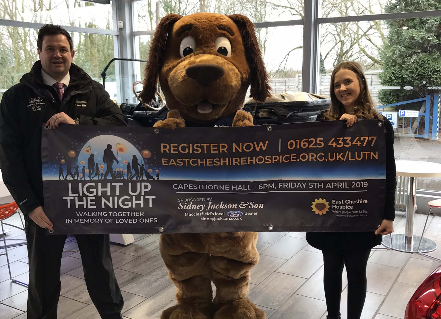 Sidney Jackson are sponsoring Light Up The Night