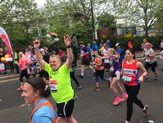 The London Marathon 2019