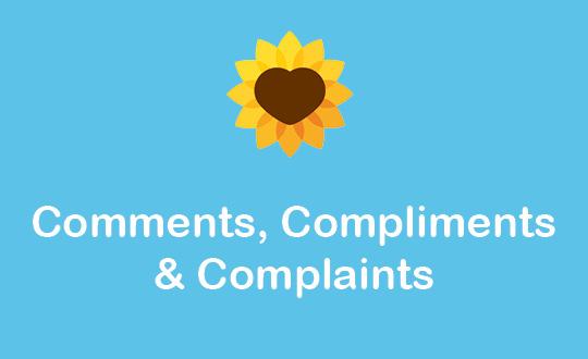 Comments, Compliments & Complaints