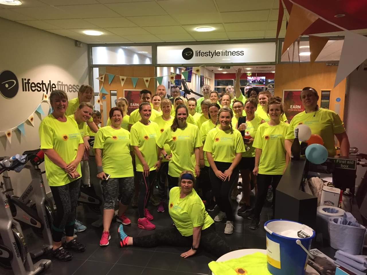 Lifestyle Fitness Charity Spinathon