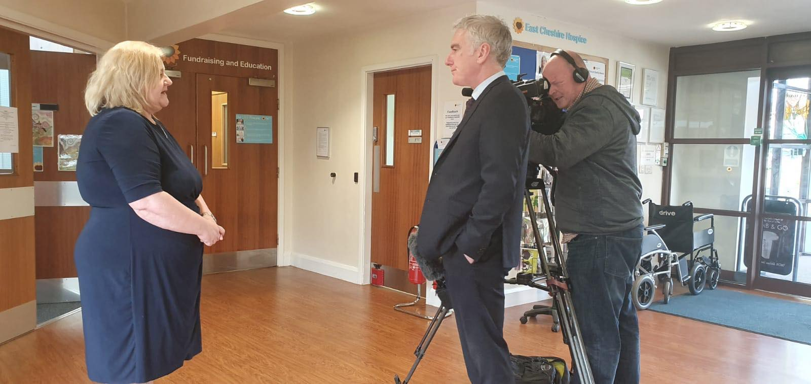 East Cheshire Hospice on BBC North West and ITV Granada