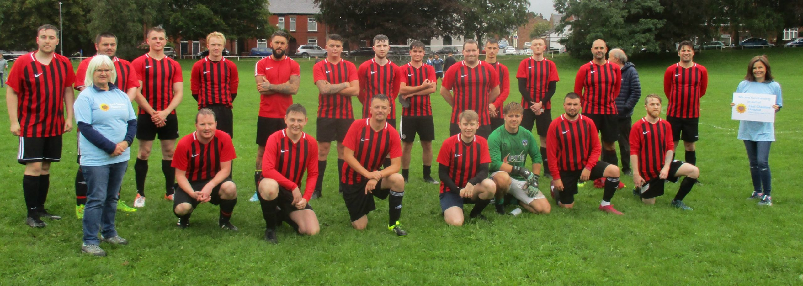 Football Match In Memory of Col Smith