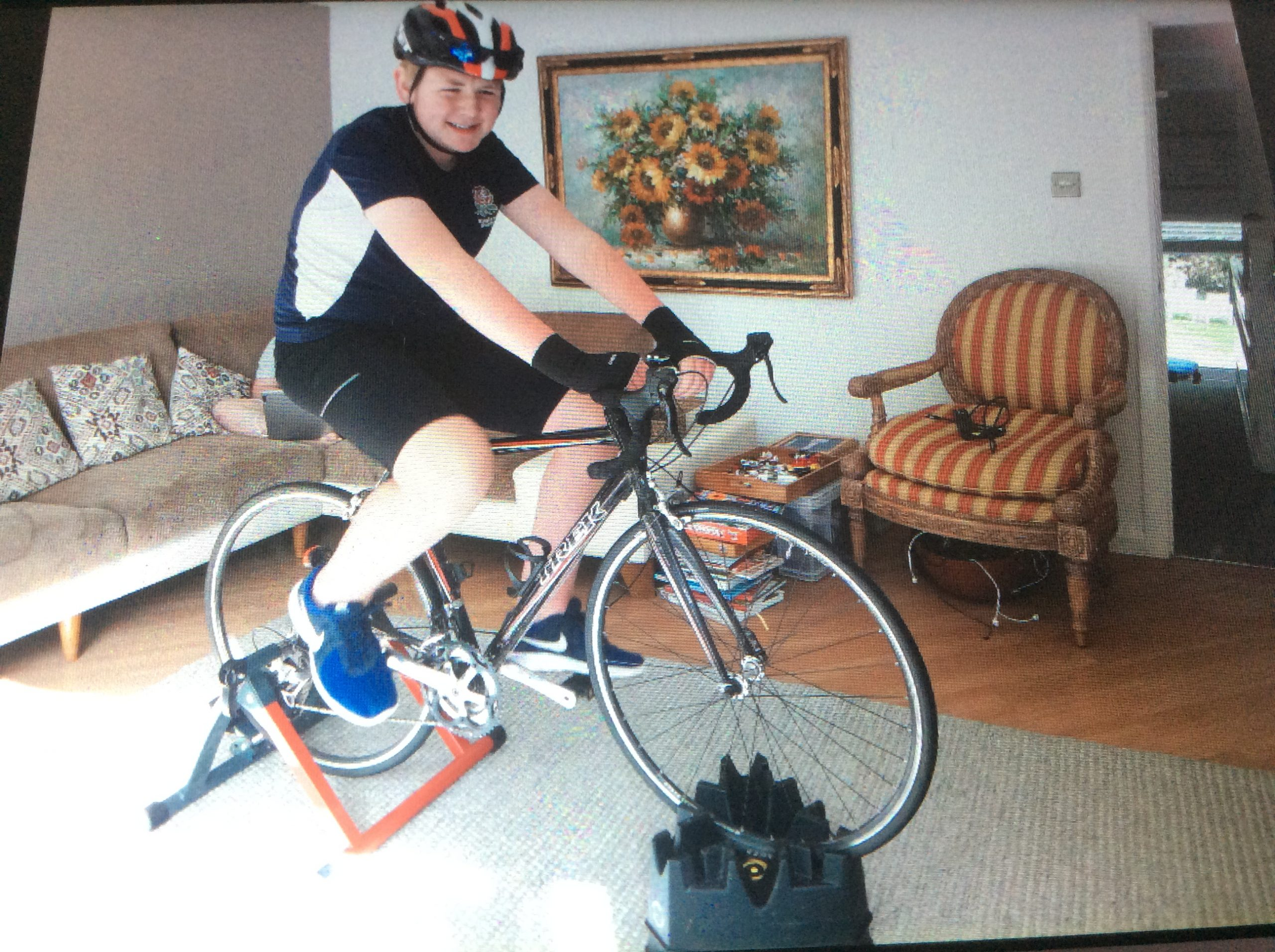 Tom's Cycling Challenge
