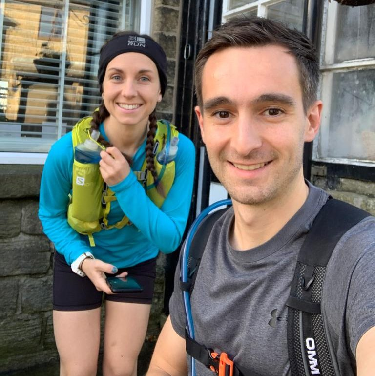 Victoria and Jake's 70 Mile Run