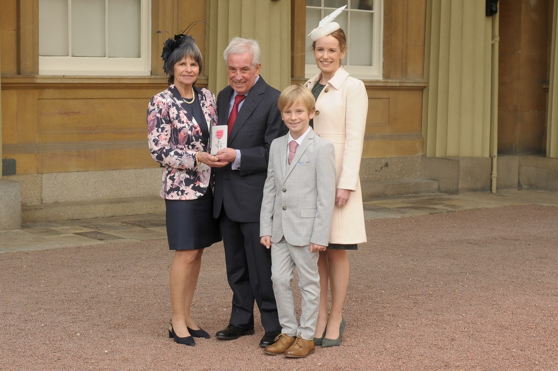 Hospice Trustee Rob Barrow Receives University Honour