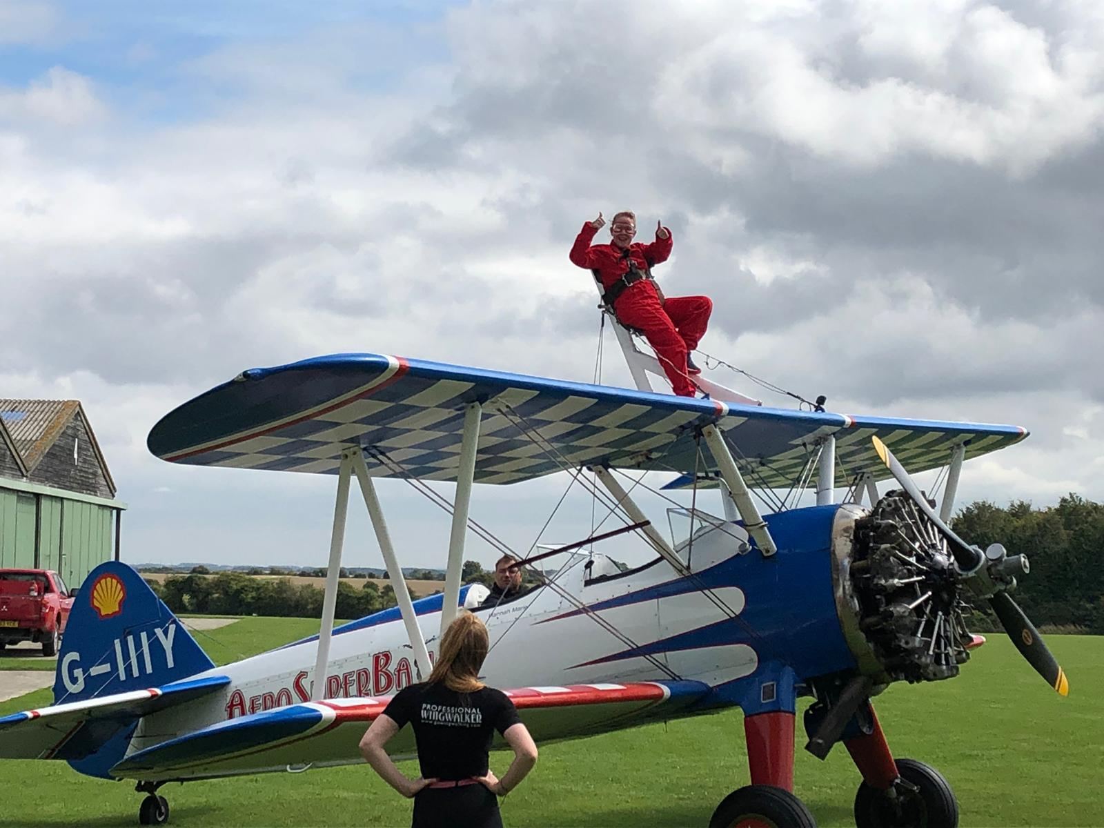 High Flyer Teresa Recommends Wing Walk