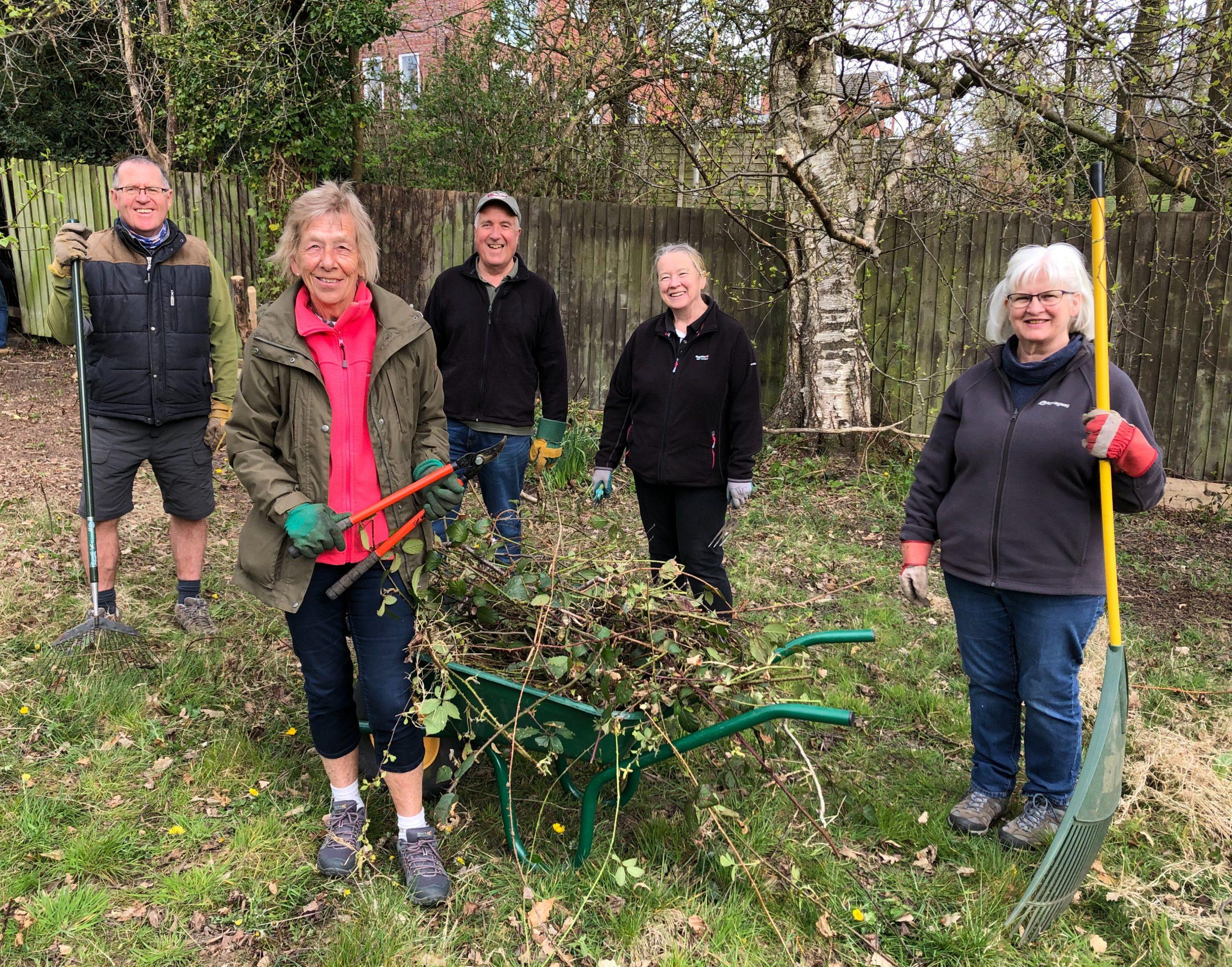 Hospice Gardening Volunteers