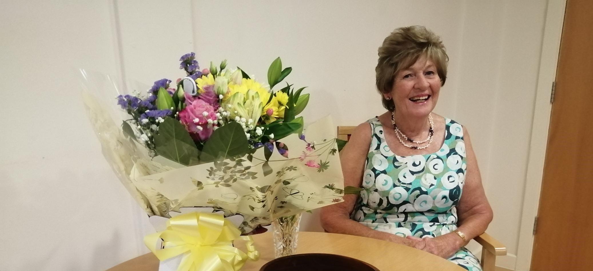 Volunteer Elspeth Retires after 33 Years