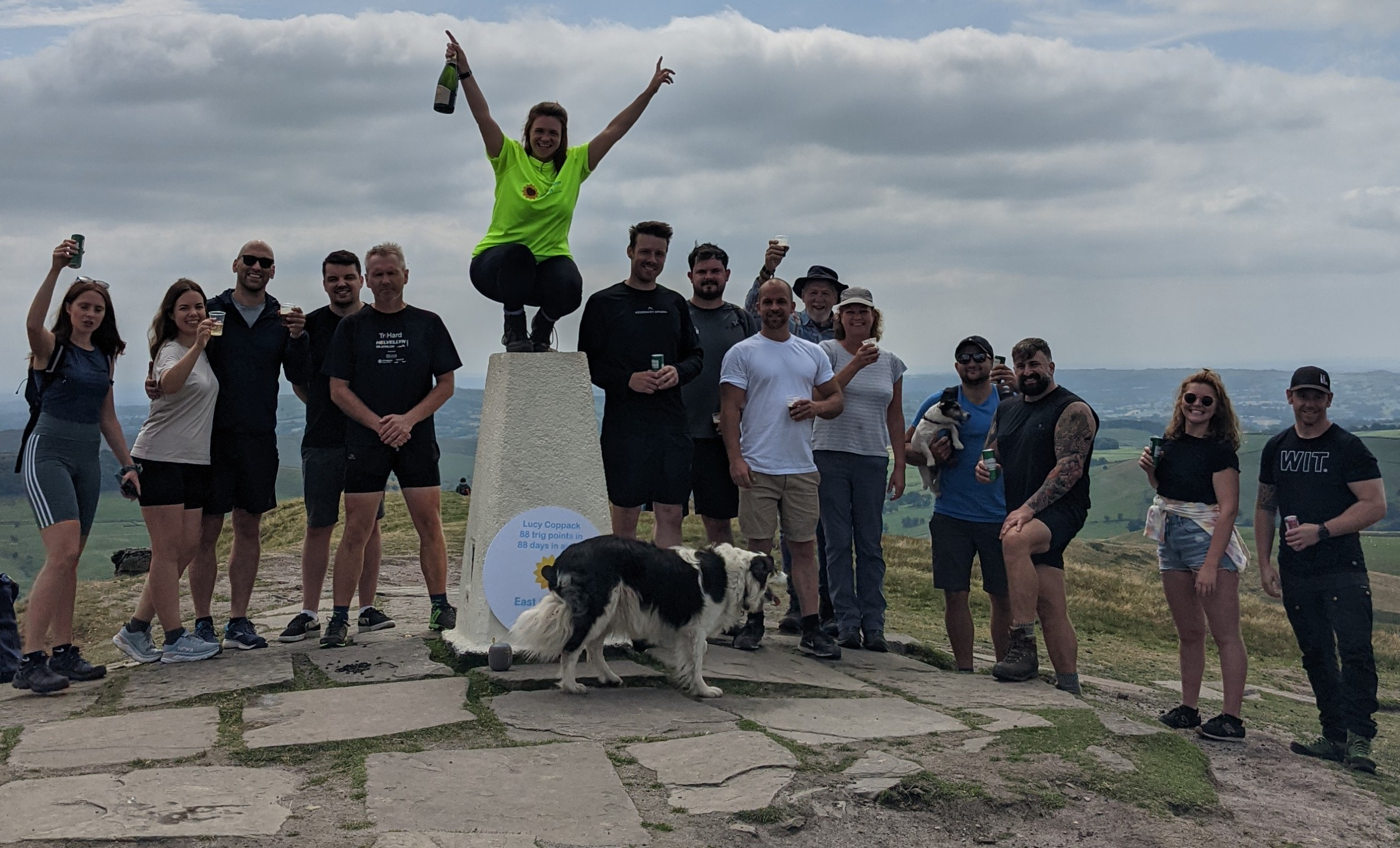 Hiking 88 hills in the Peak District