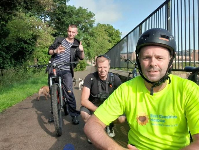 Charity Bike Ride Success